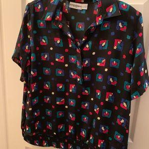 Alfred Dunner Skirt & Shirt 2 piece set. EXC Cond.
